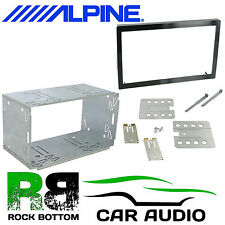 ALPINE INE-S900R 110mm Replacement Double Din Car Stereo Radio Fascia Cage Kit
