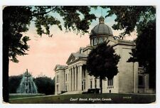 Court House, Kingston, Ontario, Canada, 1911, Frontenac County Couthouse