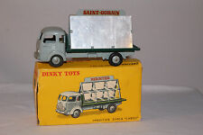 Dinky #33c, 1950's Simca Glass Transporter Truck,  Nice With Original Box
