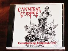 Cannibal Corpse: Cannibalizing Cleveland 1997 - Limited Edition CD 2016 USA NEW