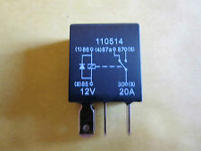 5 Pin 12v  20A Micro Relay (Changeover) + Diode