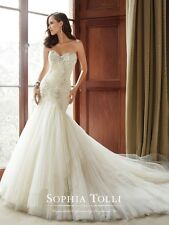 Genuine STUNNING Sophia Tolli Y21514 wedding dress Rrp £1605 Pictured £REDUCED!!
