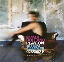 EMMA HOLLAND  - PLAY ON ALBUM SAMPLER - RARE PROMOTIONAL CD - FREE P&P UK
