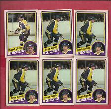 1984-85 OPC KINGS MARCEL DIONNE + BERNIE NICHOLLS  CARD LOT
