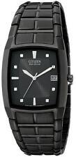 Men's Citizen Eco-Drive Black Solar Power Watch BM6555-54E