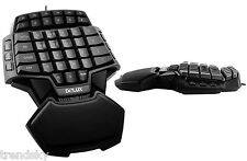 Delux T9S Tastatur Gaming Spieler Keyboard PC USB Gamer-Pad FPS WIN10/Linux/Mac