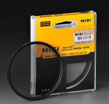 Filtre polarisant CPL Nisi 52mm Wide band Pro DW1 pour Nikon Canon Fuji Sony