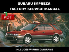 SUBARU 1993 1994 1995 1996 1997 1998 1999 2000 IMPREZA SERVICE REPAIR FSM MANUAL