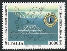 Italien aus 1992 ** postfrisch MiNr.2250 - 75. Geb. Lions Club, Genua!