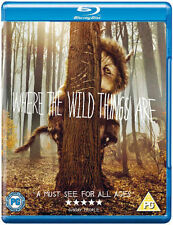WHERE THE WILD THINGS ARE******BLU-RAY******REGION B******NEW & SEALED