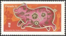 Canada 2007 YO Pig/Greetings/Animals/Zodiac/Luck/Fortune/Nature 1v (n24356)
