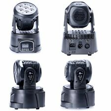 3PCS 7x10W RGBW 4in1 CREE LED Mini Moving Head DJ Disco Stage Party Effect Light