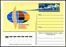 Russia 1983 Peace, Anti-War Unused Stationery Card #C35595