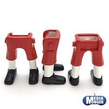 playmobil® 2 x Beine kurze Hose rot | Gamaschen weiss | Piraten | Garde | ACW