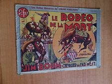 JIM BOUM CHEVALIER DU FAR-WEST LE RODEO DE LA MORT album n° 2 COEURS VA