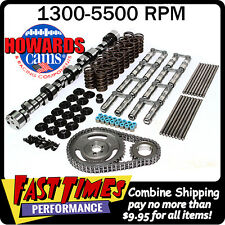 "HOWARD'S SBC Chevy Retro-Fit Hyd. Roller 270/278 495""/500"" 110° Cam Camshaft Kit"