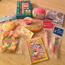 NEW San Rio (10 Piece LOT) Chi Chai Monchan/Keroppi/Hello Kitty +