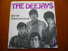 "THE DEEJAYS 7""45 PS Baby Talk 1967 UK BEAT - SWEDISH HEP HOUSE HS07"