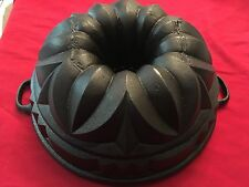 Cast Iron Bundt Cake Pan Mold Monarch Clean Ready For Use