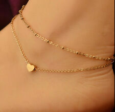 Gold Plated Ankle Chain Anklet Bracelet Foot Jewelry Sandal Beach