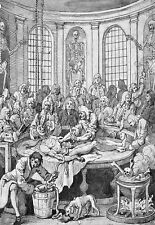 Art Ad Dissection of hanged man Doctor Medical Autopsy 1750s  Poster Print