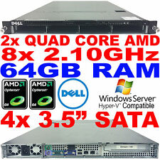 Dell PowerEdge CS24-NV7 Rack Serveur Double AMD Quad Core 2.1GHz 64GB