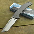 Cold Steel Code 4 CTS-XHP Tanto Point Plain Edge Tactical Knife 58TPCT