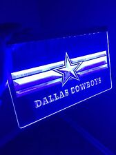 NFL Dallas Cowboys LED Sign for Game Room,Office,Bar,Man Cave Super NEW