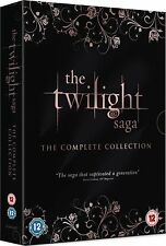 The Twilight Saga The Complete Collection DVD Box Set New Sealed 5030305516277