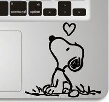 Snoopy Love Humor Keyboard Apple Macbook Laptop Air Pro Decal Sticker Skin Vinyl