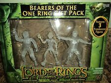 LORD OF THE RINGS BEARERS TWILIGHT FRODO BILBO GOLLUM ACTION FIGURE TOY BIZ