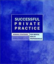 Successful Private Practice: Winning Strategies for Mental Health Prof-ExLibrary