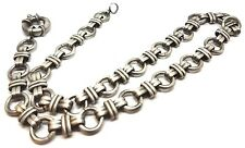 """Summer Fashion Men 20"""" Stainless Steel Silver Heavy Chain Necklace Pendant"""