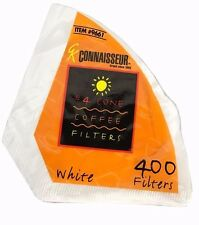 Rockline Connaisseur Coffee Filter #4 Cone White 400 Filters