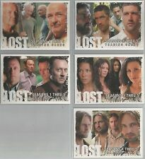 LOST stagioni 1-5 - SDCC 2009 5 CARD PROMO Set #P1-P5