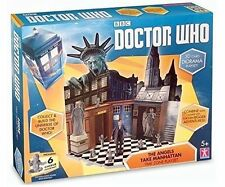 Doctor Who Time Zone Playset - The Angels Take Manhattan - 04874 - New