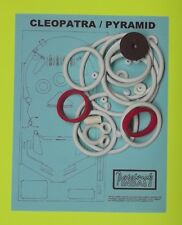 1977 Gottlieb Cleopatra / Pyramid pinball rubber ring kit