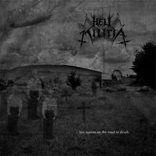 Hell Militia - Last Station on the Road to Death CD 2010 digibook black metal