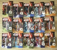 LOT STAR WARS 15 FIGURINES KYLO+PHASMA+VADER+TIE ... DISNEY HASBRO EN BOITE NEUF