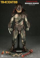"Ready Hot Toys Predators - 1/6 Berserker Predator Figure 14"" New"
