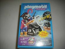PLAYMOBIL PIRATES BLACKBEARD 5730 WITH CANNON