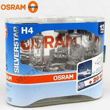 OSRAM H4 12V 60/55W SILVERSTAR Halogen Long Lifetime Headlight Bulbs 64193SVS