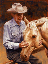 """""""Old Friends"""" Don Stivers Western Limited Edition Giclee Print"""