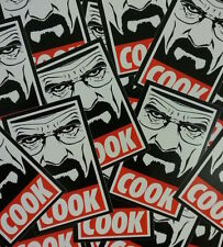 *** 10 Stück - Breaking Bad Sticker - Walter White - Heisenberg - Cook ***