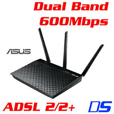ASUS DSL-N55U Dual-Band Wireless-N600 600Mbps ADSL 2/2+ Gigabit USB Modem Router