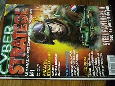 8µ? Revue Cyber Stratege n°1 Caesar II Steel Panthers II Stalingrad