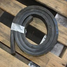 Heavy duty rubber strip skirting pad block mats 20mm thick x 50mm x approx. 2m