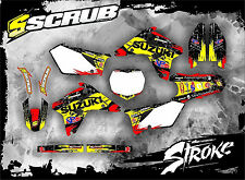 SCRUB Suzuki RMz 450 2007 Grafik Sticker Dekor-Set '07