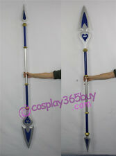 Kingdom Hearts Birth by Sleep long spear cosplay prop PVC made can be assembled