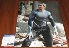Aaron Taylor-Johnson Signed 11x14 Quicksilver Avengers Age of Ultron PSA/DNA